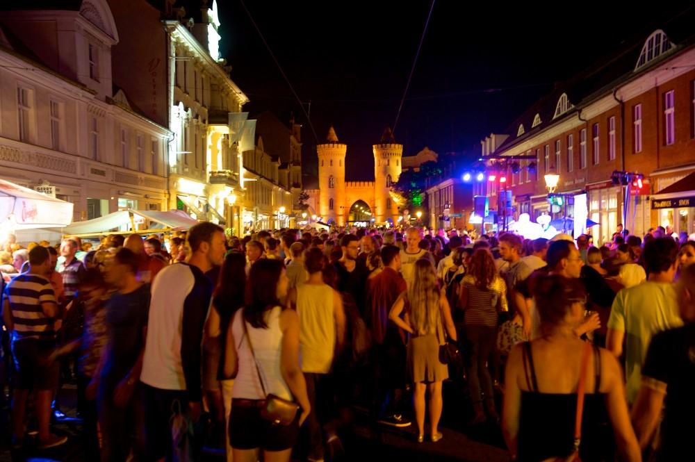 Die 12. Potsdamer Erlebnisnacht lockt die Menschen auf die Straße | Foto: potsdamer-erlebnisnacht.de