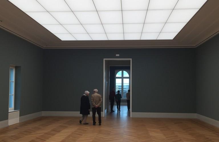 Noch sind die Räume leer, bald aber schon werden die Impressionisten einziehen.