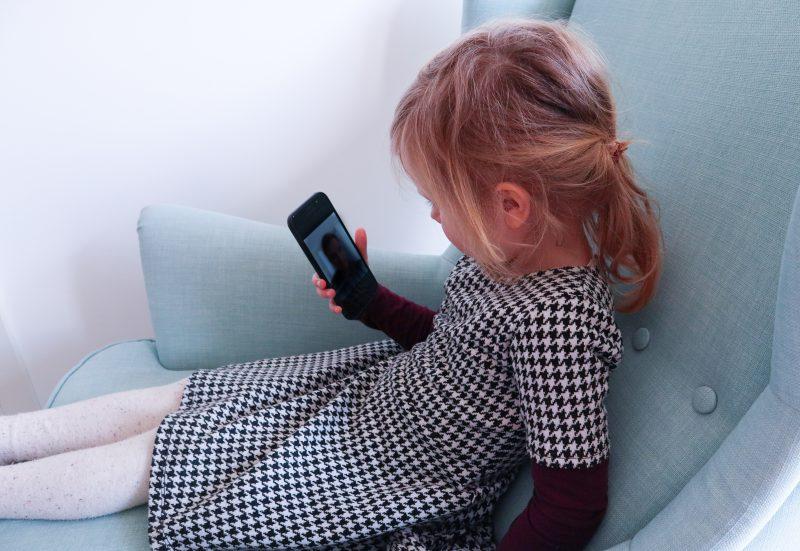 Tägliches Highlight - die Video-Schalte zwischen Enkelin und Oma